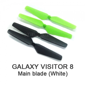 [GV8] Main blade set (black/green) | 갤럭시비지터8