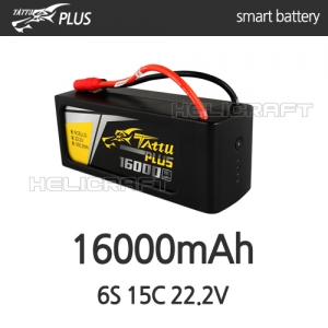 [TATTU PLUS] 16000mAh 6S 15C 22.2V - 강력추천!!