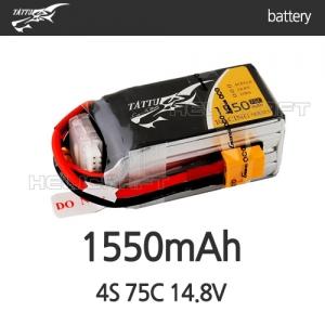[TATTU] 1550mAh 4S 75C 14.8V - 일반용