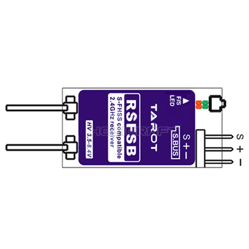 [TR] Futaba S-FHSS Compatible Receiver(S-BUS)