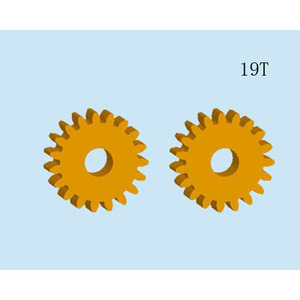 brushed motor copper gear (W100-015)