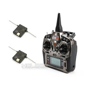 [Spektrum] DX9 9ch DSMX TX (w/2 Satellite Receiver/MD1) - Version.2!