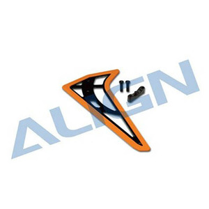 [Align] 450L Vertical Stabilizer (Fluorescence Orange)