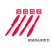 [DUALSKY] 6in Prop' for 250~300 FPV Racing(Red/2 Pair) - 추천!