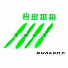 [DUALSKY] 6in Prop' for 250~300 FPV Racing(Green/2 Pair) - 추천!