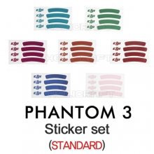 [DJI] 팬텀3 스티커 세트| Sticker set(Standard) | PHANTOM3