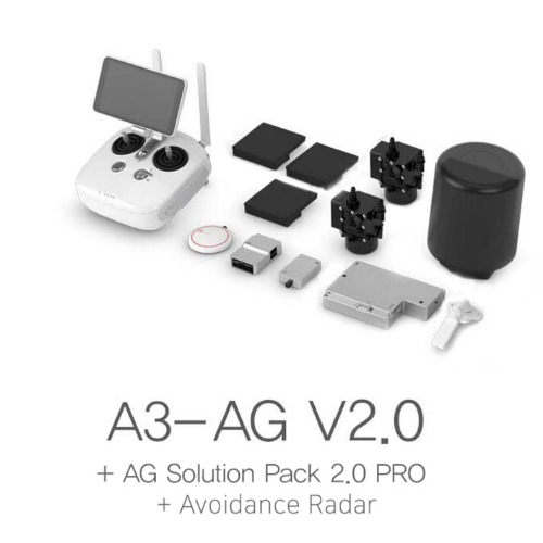 [DJI] A3-AG V2.0 + AG Solution Pack 2.0 Pro + Avoidance Radar