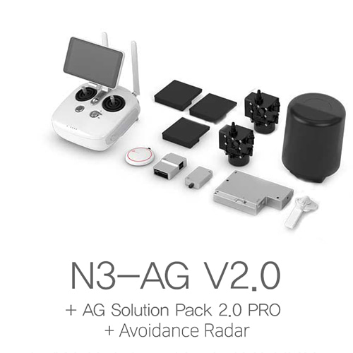 [DJI] N3-AG V2.0 + AG Solution Pack 2.0 Pro + Avoidance Radar