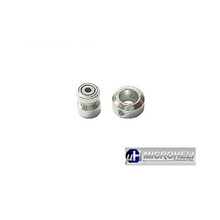 [MH] Aluminum Inner Shaft Bearing Housing/Collar Set for Blade mCX-II
