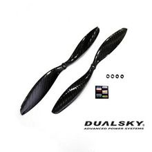 [DUALSKY] 11x4.7/inch Carbon Prop for MX4005/4010(Pair)