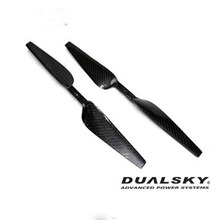 [DUALSKY] 16x5.0/inch Carbon Prop for 5015-7 MR (Pair/M3.0) - 강력추천!