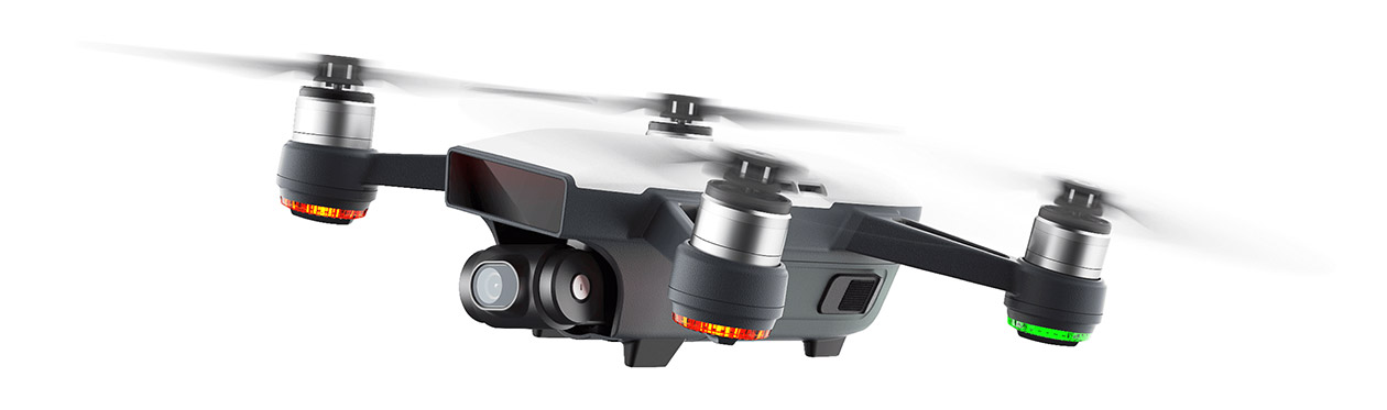 Dji Spark Fly more Combo + Color sticker